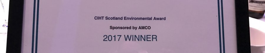 TripshareSEStran awarded the Charted Institute of Highways and Transportation (CIHT) AMCO Environmental Award 2017/18