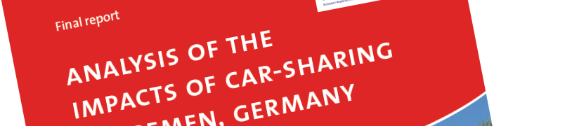 Impact Analysis of Car-Sharing in Bremen – English report published