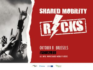 Shared Mobility Rocks 2019
