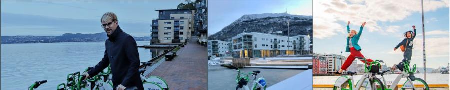 Nearly 1 million trips  – Bike-Sharing Success in Bergen, Norway!